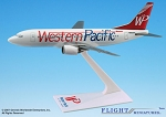 Western Pacific 737-300 1:200