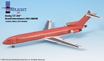 Braniff Ultra Red/Gold  727-200 1:200