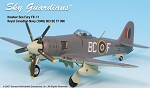 Sea Fury RCN (1949) 803 SQ 1:72
