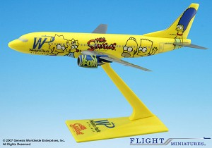 Western Pacific Simpsons 737-300 1:200