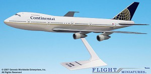 Continental (91-10) 747-100/200 1:250