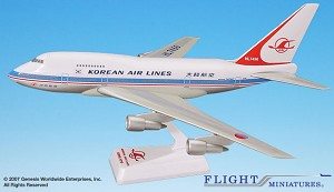 Korean Air Lines (69-84) 747SP 1:200
