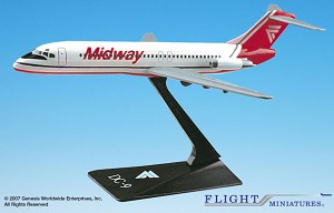 Midway (84-93) DC-9 1:200