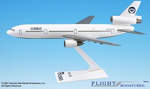 Orbis Flying Eye Hospital DC-10 1:250