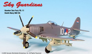 Sea Fury FB.11 Dutch Navy 860 SQ 1:72